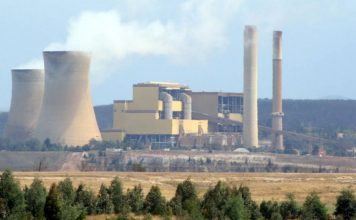 The Yallourn Power Station in the Latrobe Valley