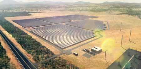 Artist impression of the Lakeland Solar and Storage Project