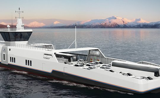Finnish company Wärtsilä is developing inductive technology to power electric ships.