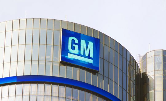 GM has set an ambitious target of 100 per cent renewable energy by 2050.