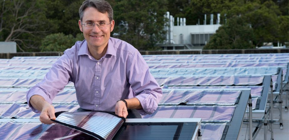 Researchers unveil Australia's first printed solar field