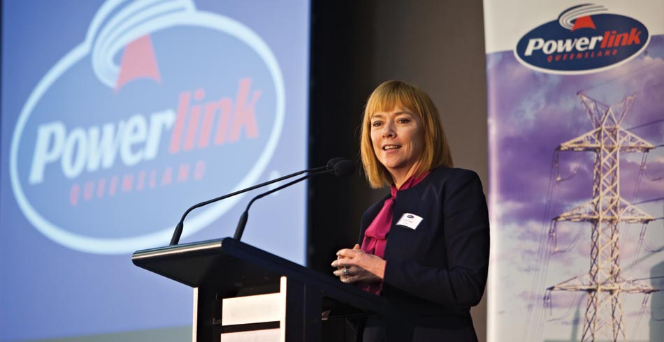 Powerlink Queensland CEO Merryn York