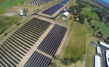 The solar research facility at UQ's Gatton campus