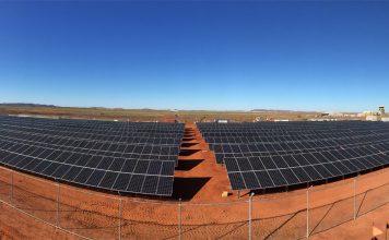 Karratha Airport Solar Farm.
