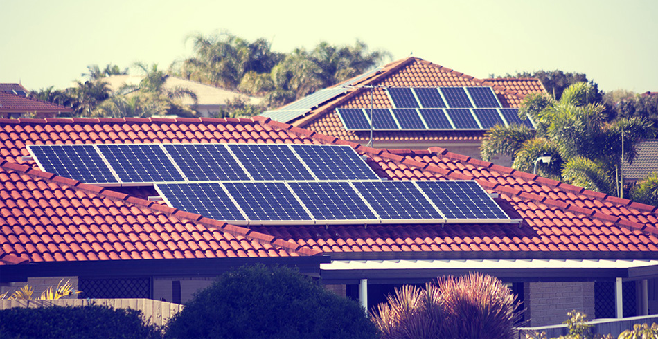 home battery, solar homes