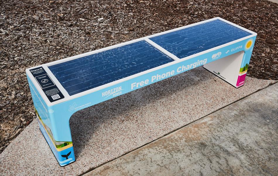 solar benches