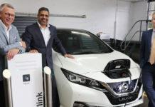 Nissan Leaf electric vehicle EV