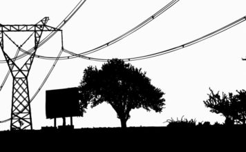 billboard powerlines